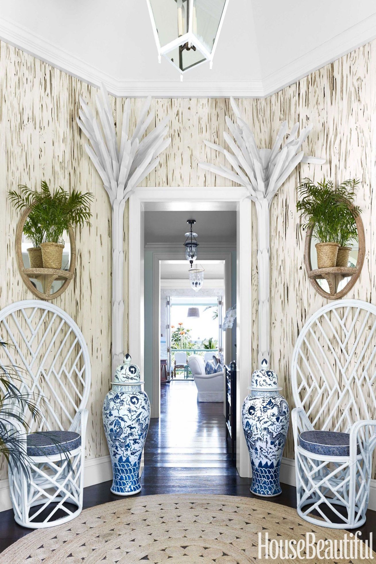 The Best Entryway Ideas of 2018 - Beautiful Foyer Designs and Furniture