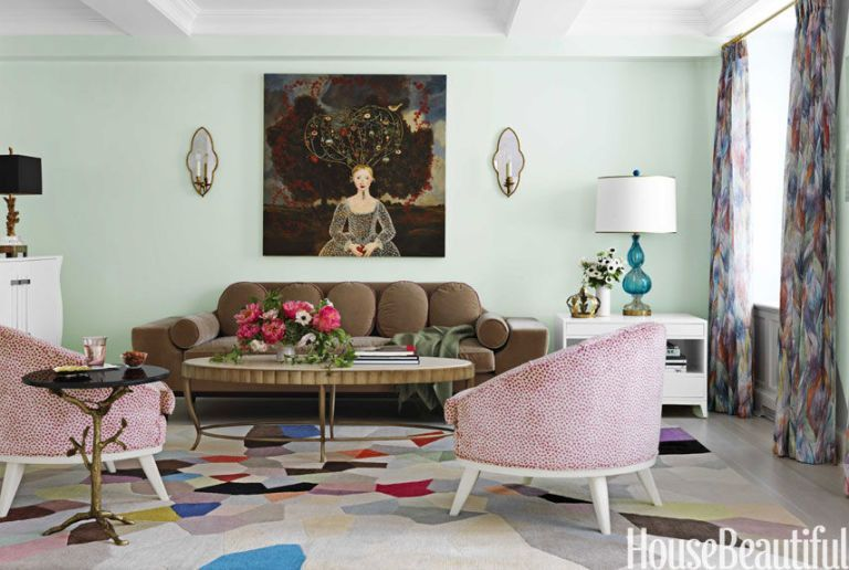 Green Living Rooms In 2016 Ideas For.