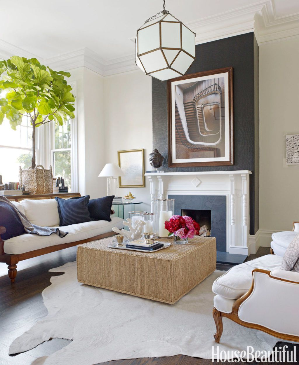 10+ White Living Room Ideas - Decor for Modern White Living Rooms