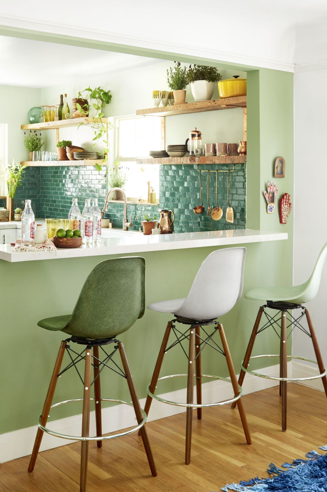 Kitchen paint colors green