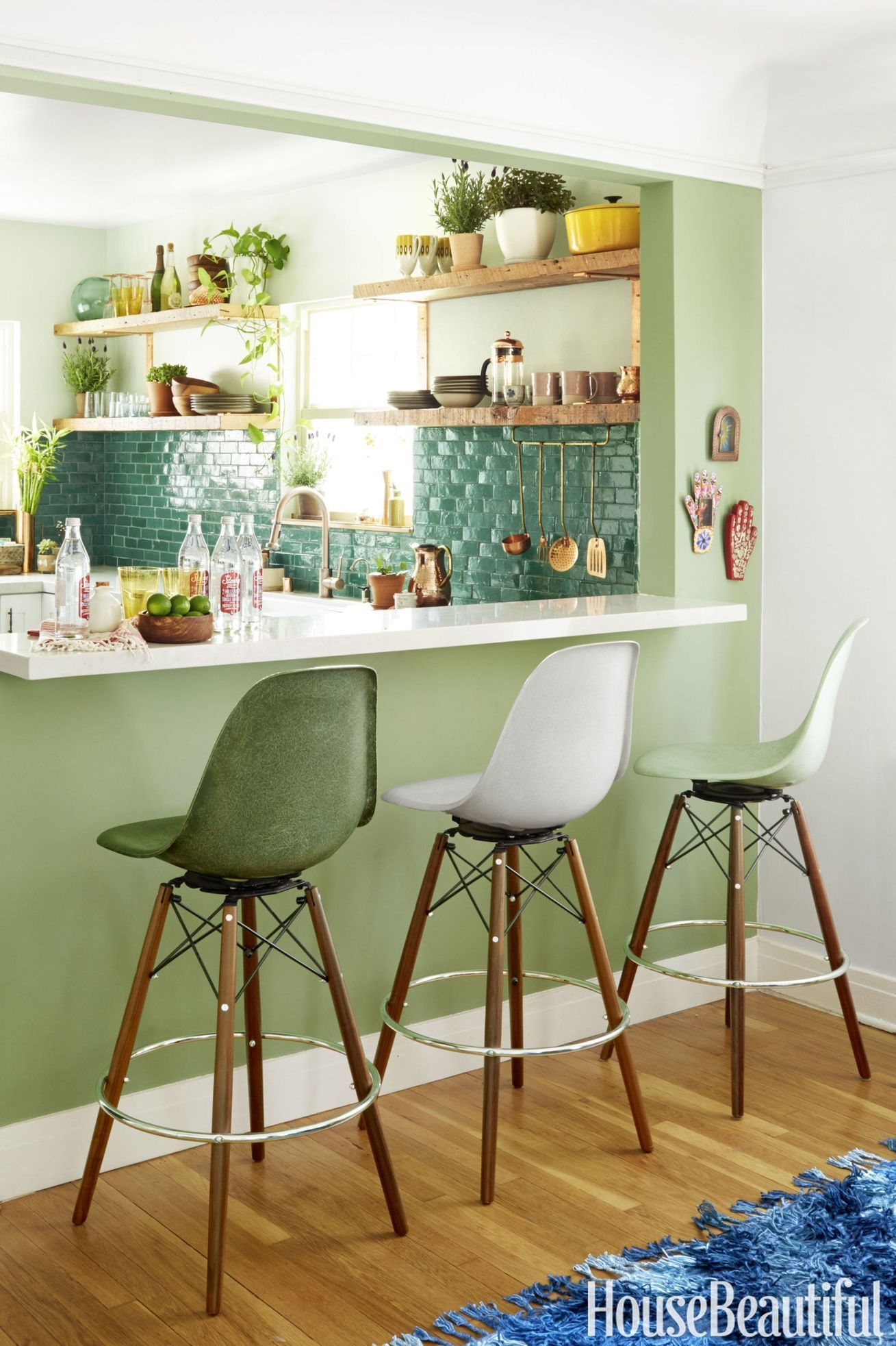Charmant Kitchen Paint Colors Green