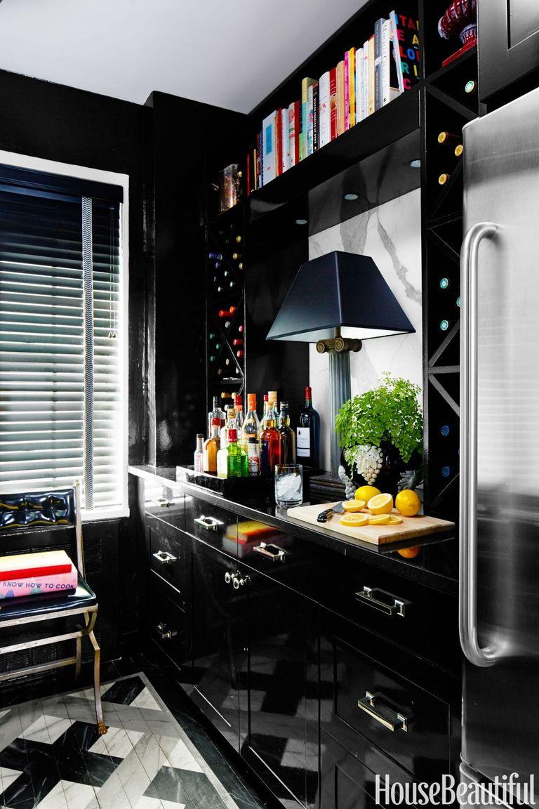 Kitchen Paint Colors Black