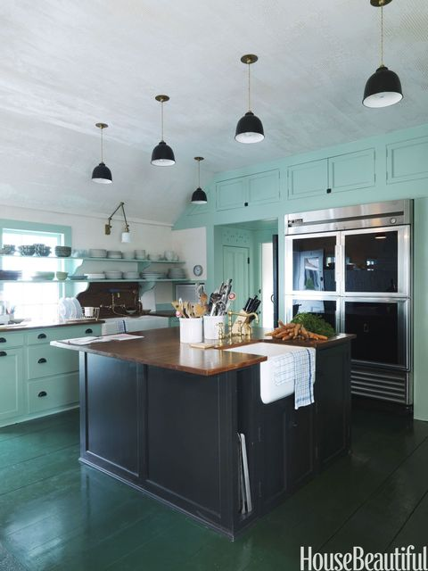 Image Result For Kitchen Decorating Ideas With Mint Green Walls