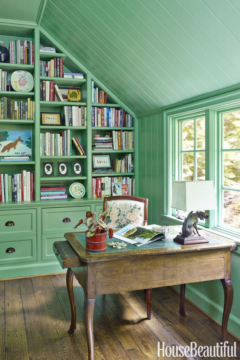 Colour For Study Room: Ideas For Mint Green Home Decor