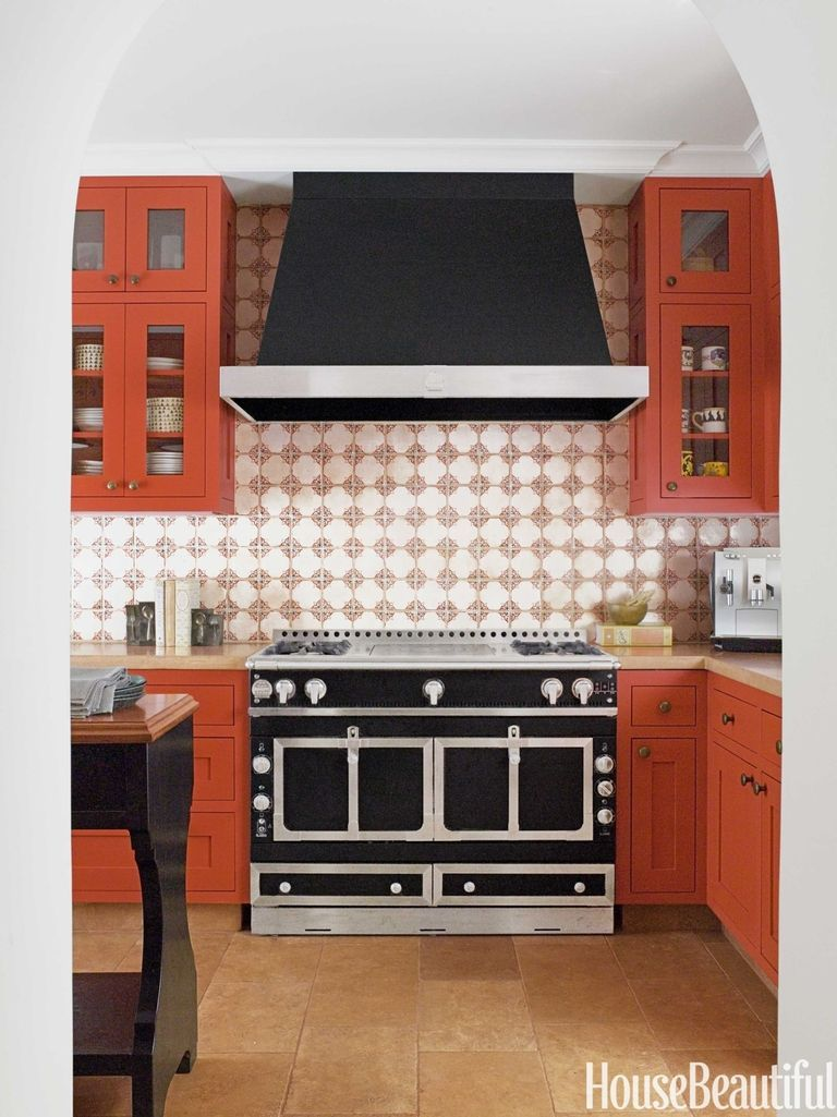 red kitchen cabinets farmhouse 14 red kitchen decor ideas decorating