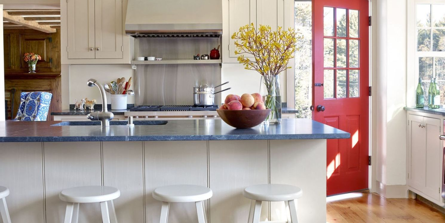 14+ Classic Red Kitchens