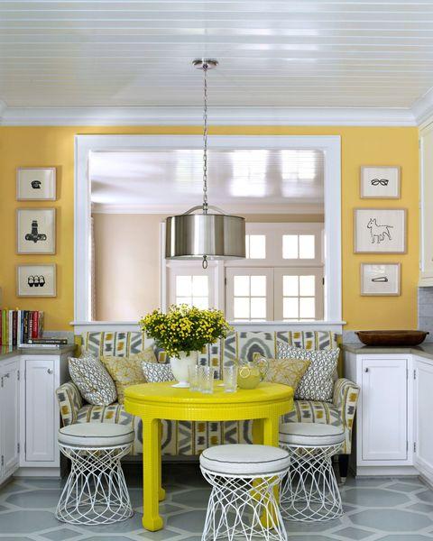 10 Yellow Kitchens Decor Ideas Kitchens With Yellow Walls