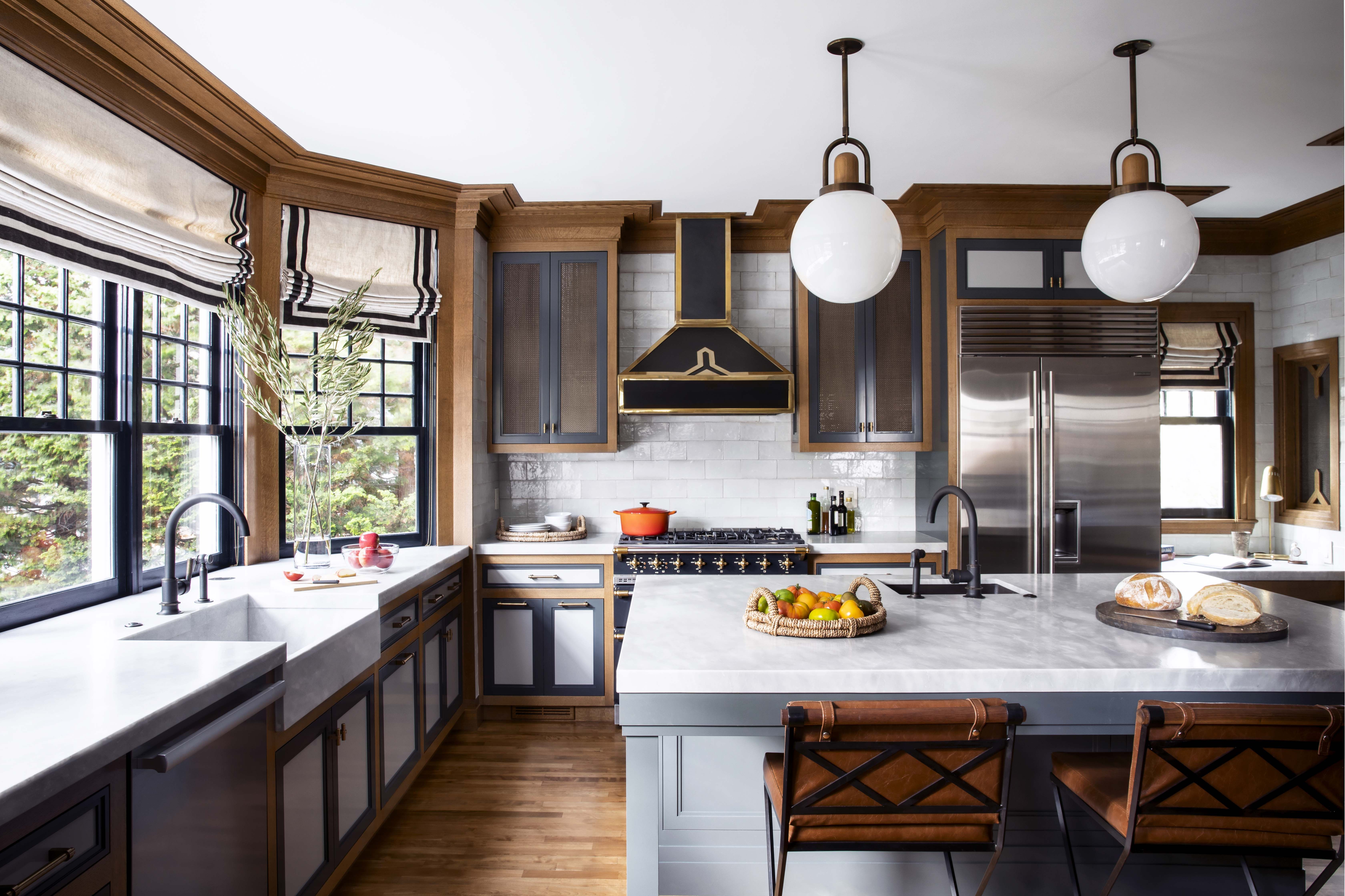 The Cabinets In This Deco Kitchen Are Like Nothing You've Ever Seen
