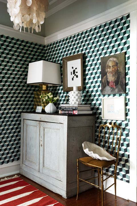 25 Stylish Hallway Wallpaper Ideas Entryway And Stairway