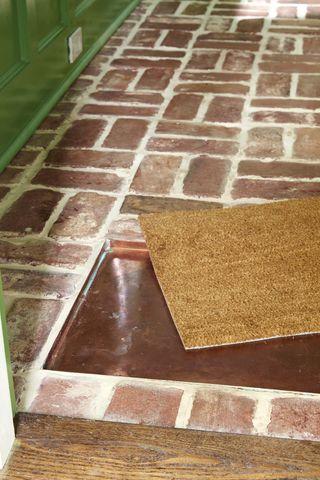 antique brick floor