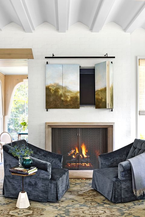 45 Best Fireplace Ideas - Stylish Indoor Fireplace Designs ...