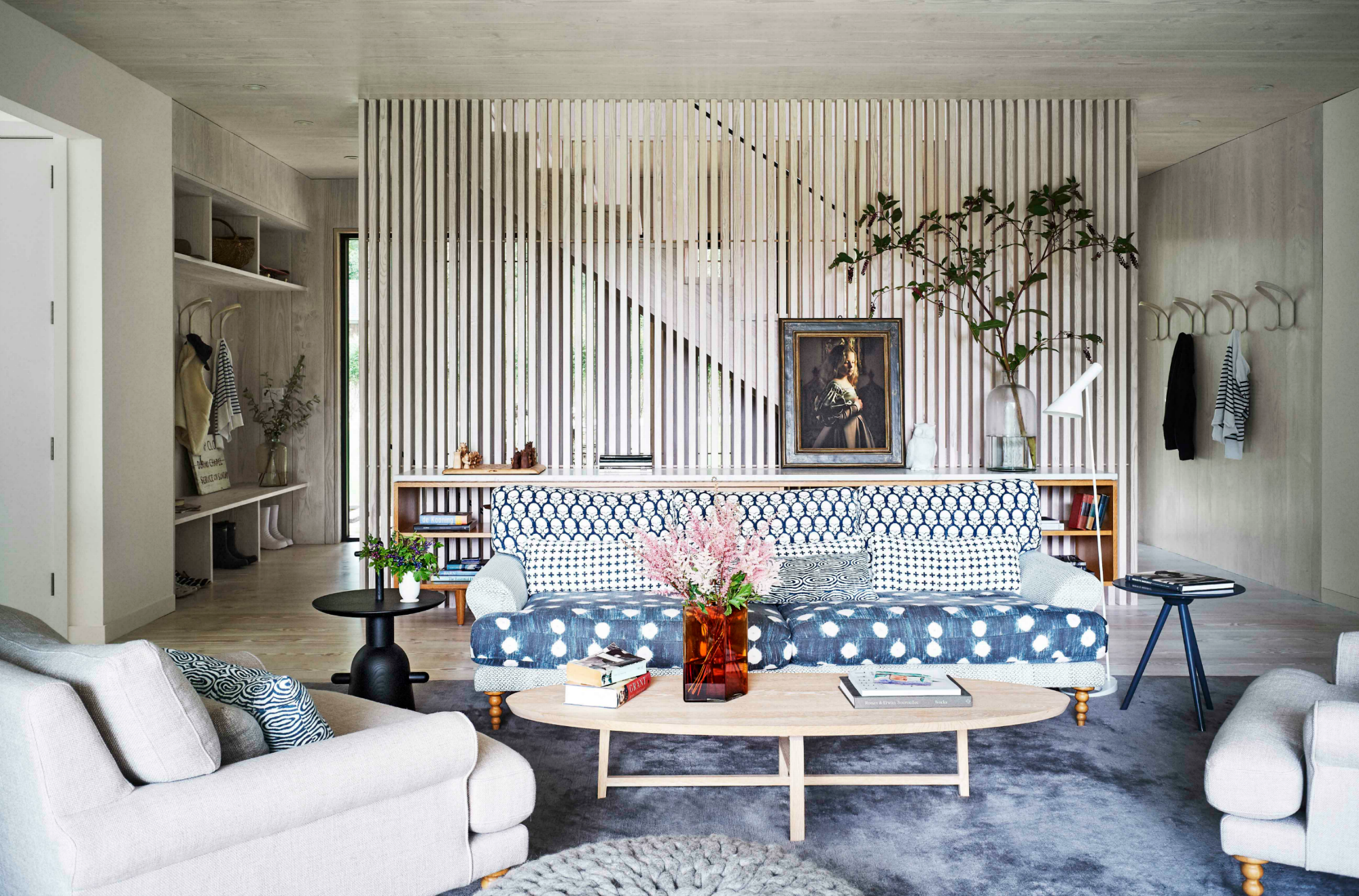 How To Mix Pattern In The Living Room