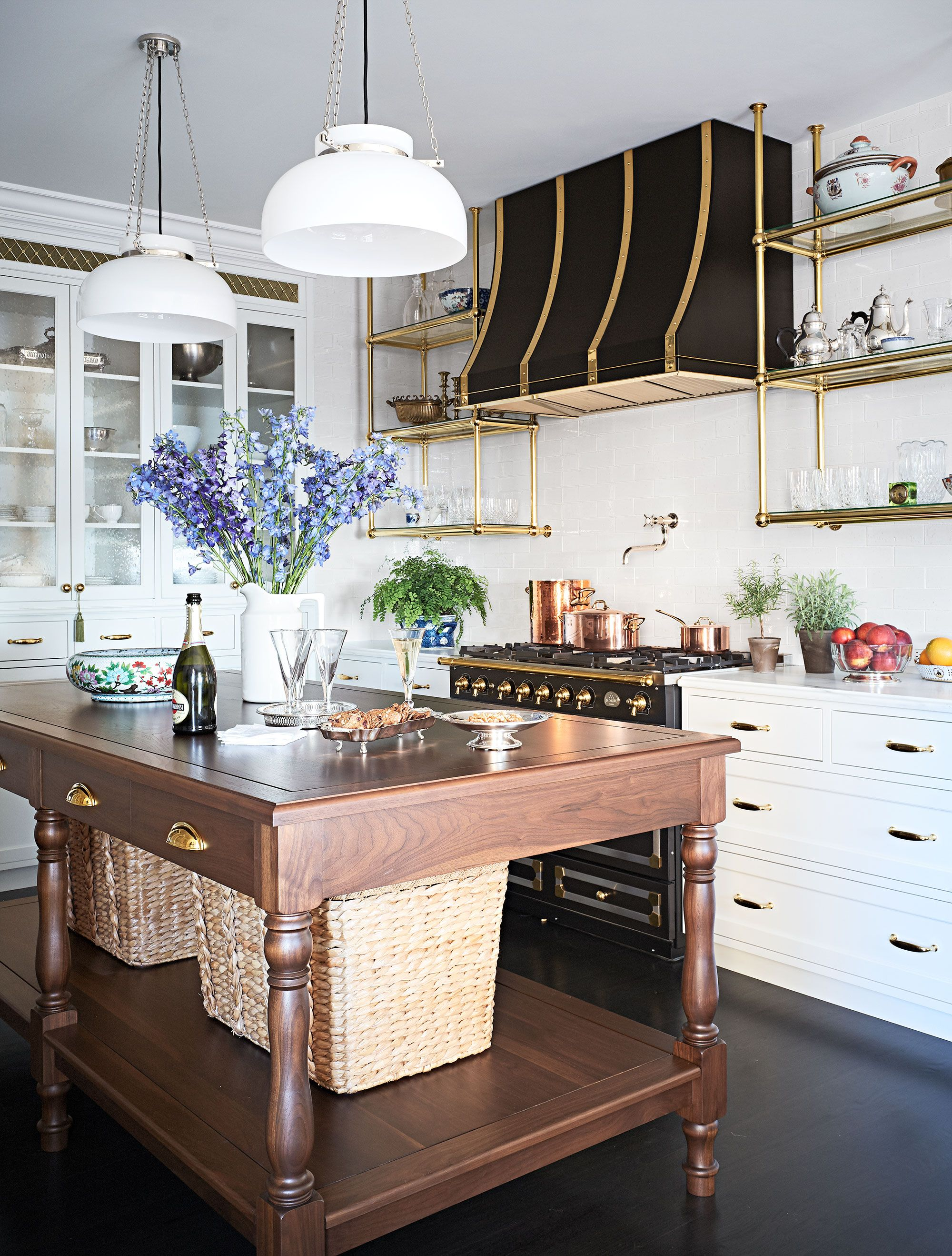 French Country Kitchen Ranges