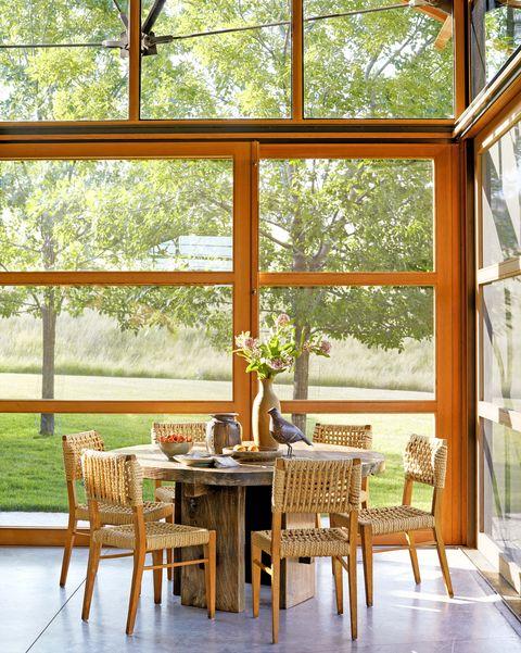 kabin montana pedesaan dimodernisasi oleh desainer oleh madeline stuart