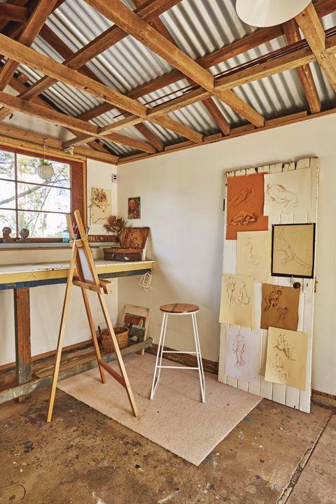art studio, weshed