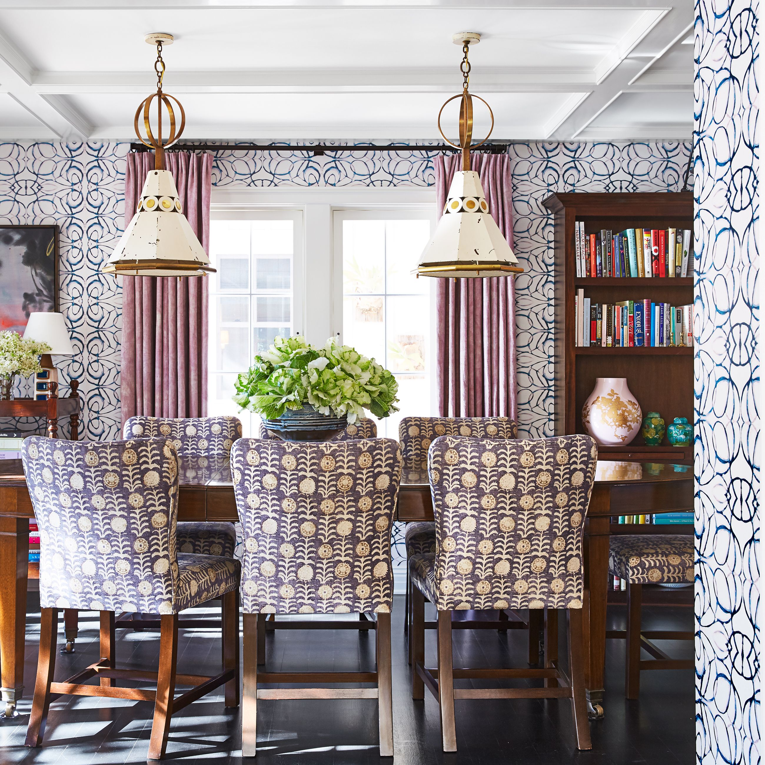 Marvelous 18 Dining Room Wallpaper Ideas Thatll Elevate All Your Download Free Architecture Designs Madebymaigaardcom
