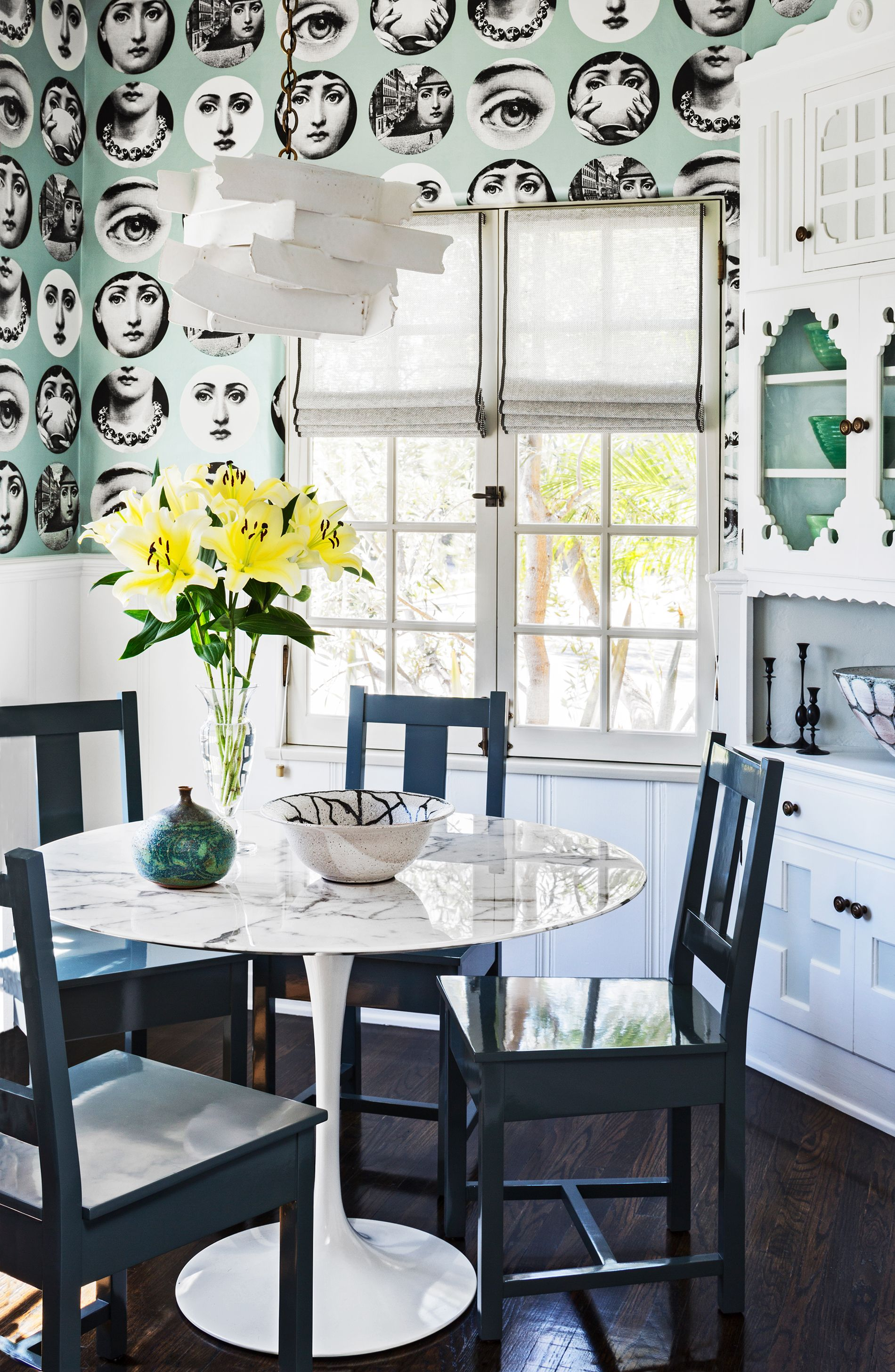 18 Dining Room Wallpaper Ideas That Ll, Wallpaper For Kitchen And Dining Room