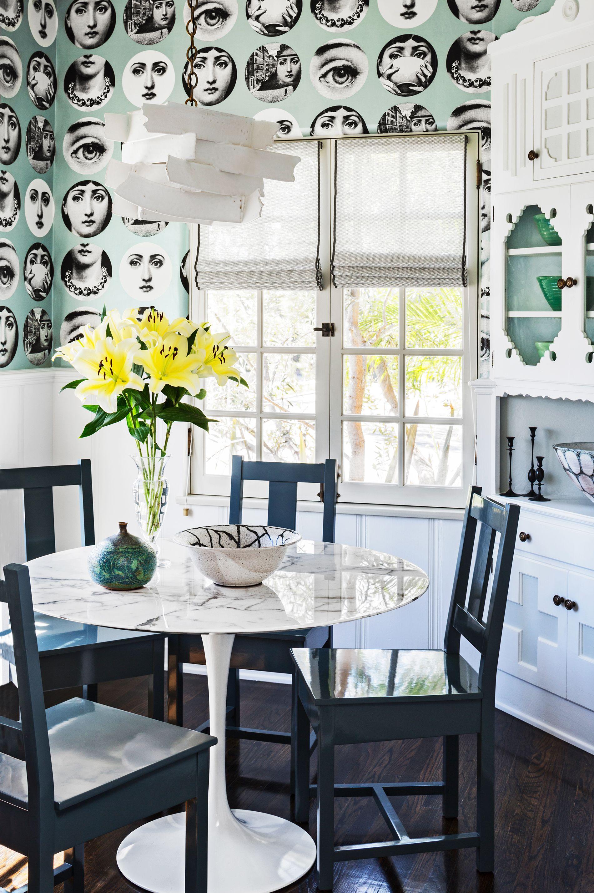 modern dining room wallpaper ideas