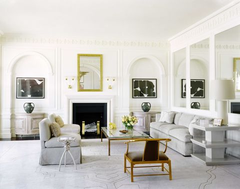Best White Paint Colors Top Shades Of White Paint For Walls - White-living-room-painting