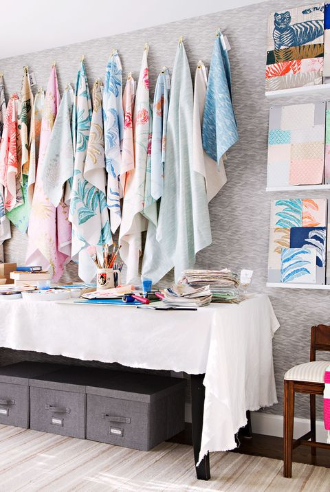 14 Best Sewing Room Ideas How To Style A Pretty Sewing Room