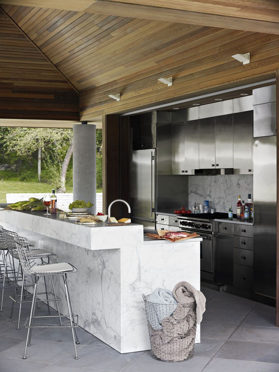 12 Outdoor Kitchen Design Ideas And Pictures Al Fresco Kitchen