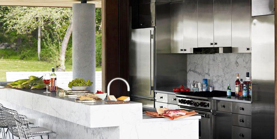 12 Outdoor Kitchen Design Ideas and Pictures - Al Fresco Kitchen Styles