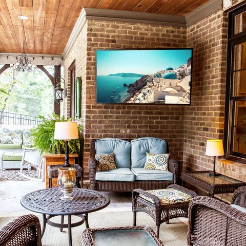 You Can Now Binge Your Shows Outside With This Weatherproof TV