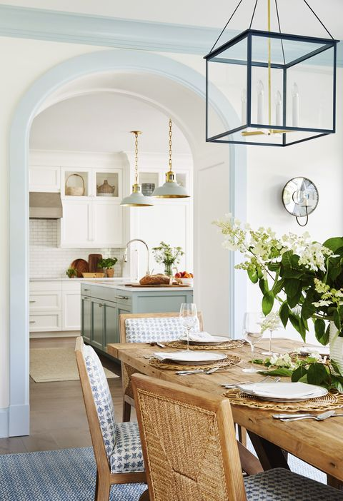 white room with blue trim by chauncey boothby