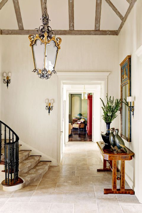 French country foyer