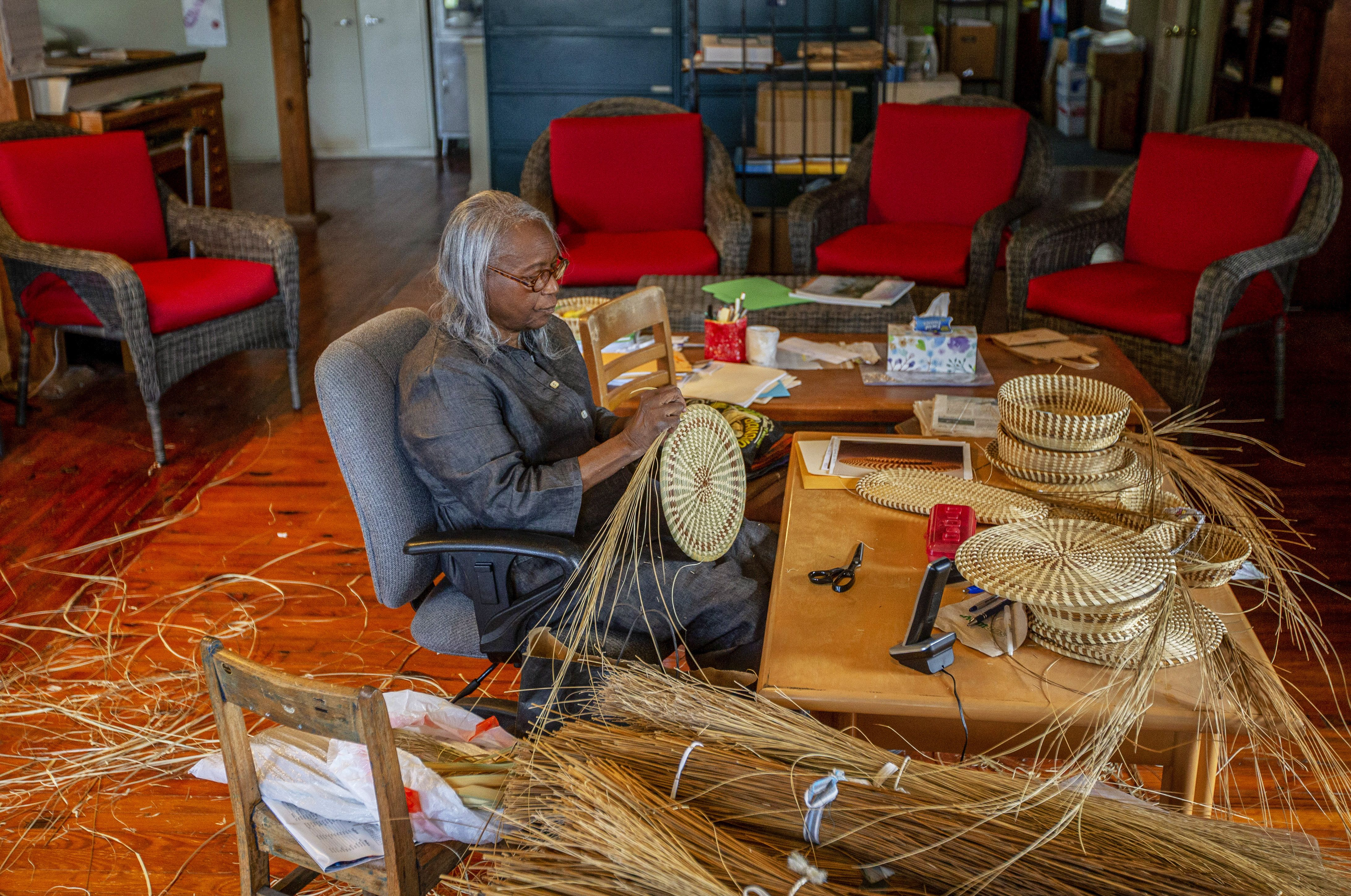 This Artist Is Continuing a Rich Legacy of Basket Weaving