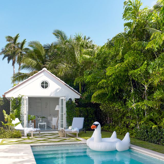 21 Pool House Design Ideas That Feel Like Vacation - Pool ...