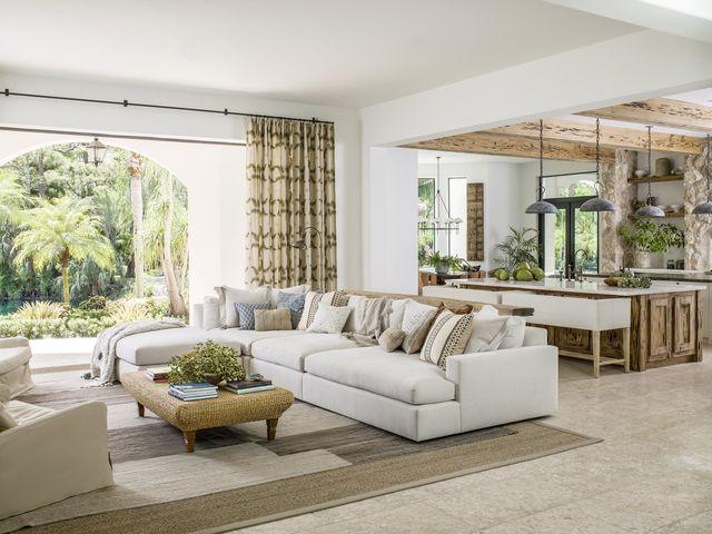 living room of lauren liess