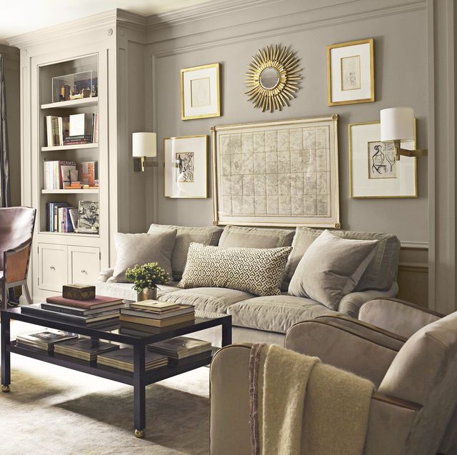 Interesting Living Room Paint Color Ideas: 26 Best Grey Paint Colors