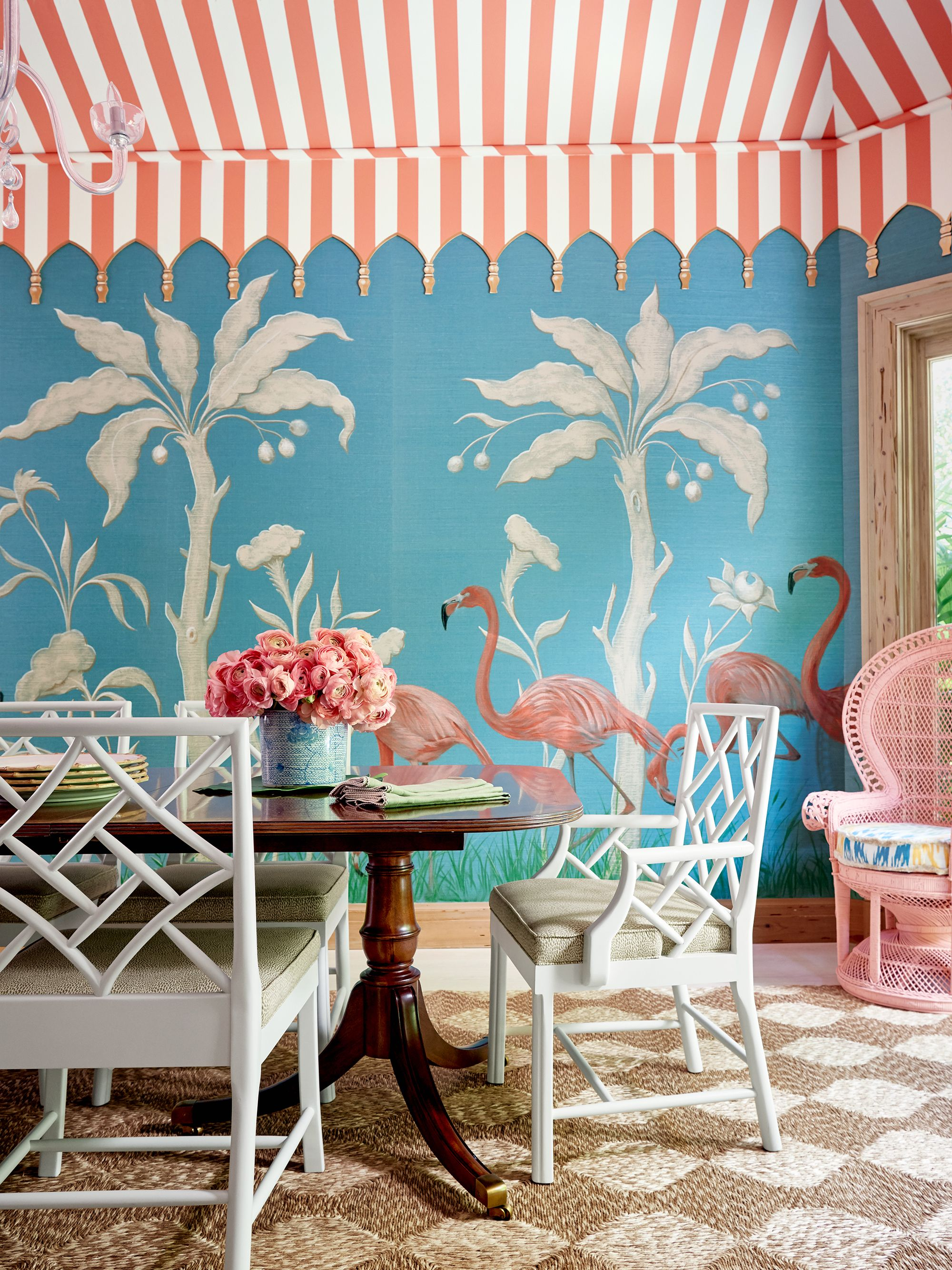 18 Dining Room Wallpaper Ideas Thatll Elevate All Your