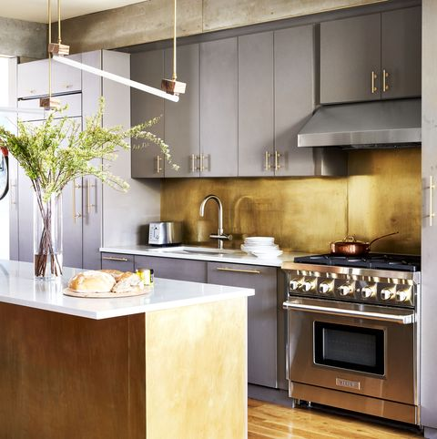 Countertop, Cabinetry, Kitchen, Furniture, Room, Property, Interior design, Kitchen stove, Floor, Home,