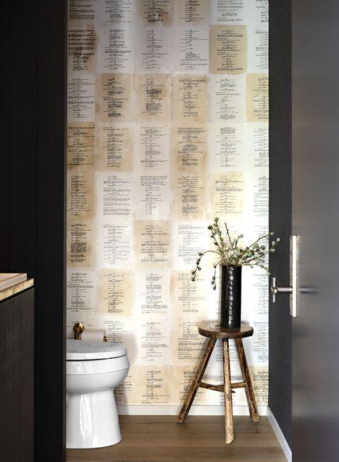 Tile, Interior design, Room, Floor, Window treatment, Curtain, Wall, Bathroom, Flooring, Furniture,