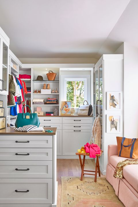 Walk In Closet Décor Ideas