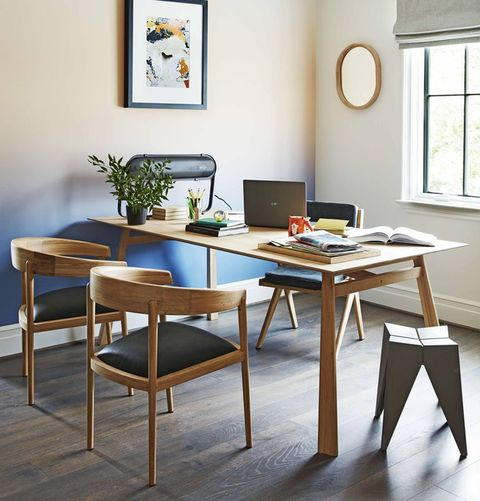 Furniture, Room, Table, Dining room, Interior design, Coffee table, Kitchen & dining room table, Chair, Desk, Building,