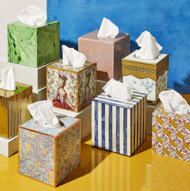 Upgrade Your Nightstand With These 8 Chic Tissue Box Covers