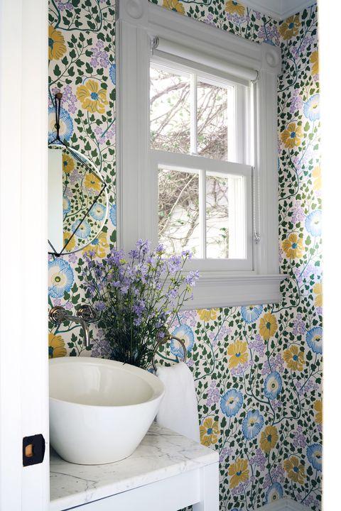 28 Bathroom Wallpaper Ideas That Will, Wallpaper For Bathroom Walls