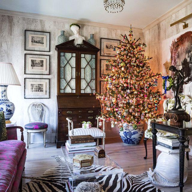 christmas tree house beautiful