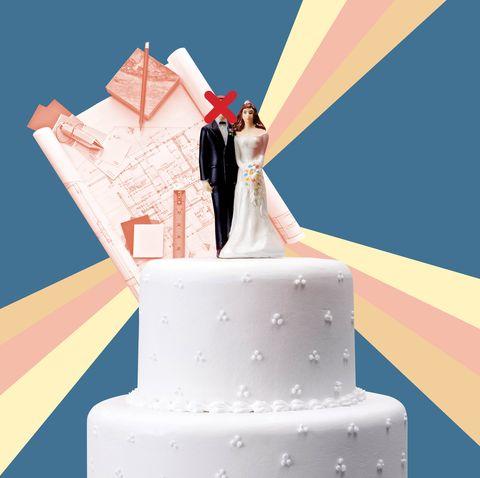 Cake decorating, Icing, Buttercream, Dessert, Torte, Cake, Baked goods, Wedding cake, Illustration, Birthday cake,
