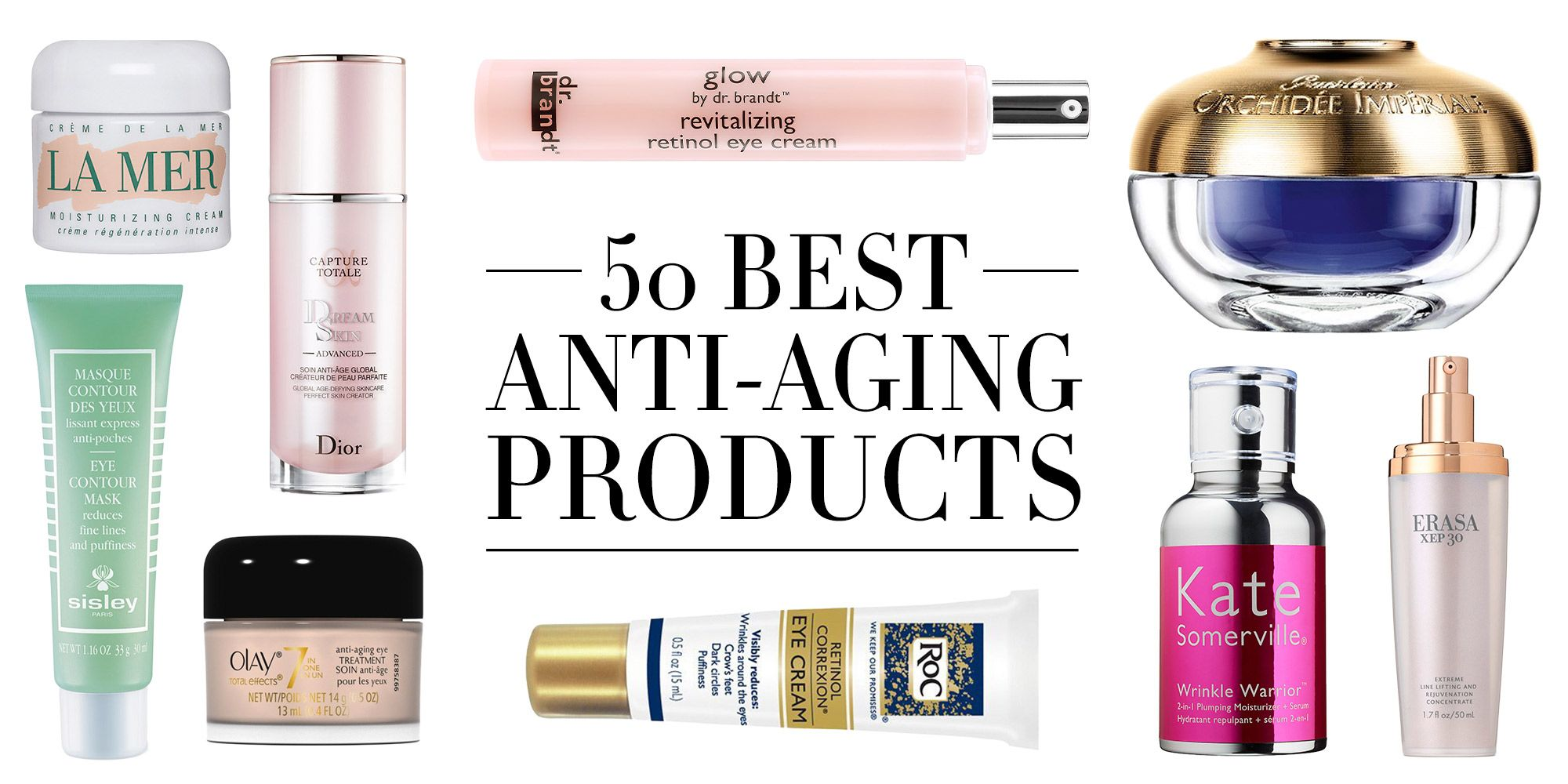 compare anti aging skin care products