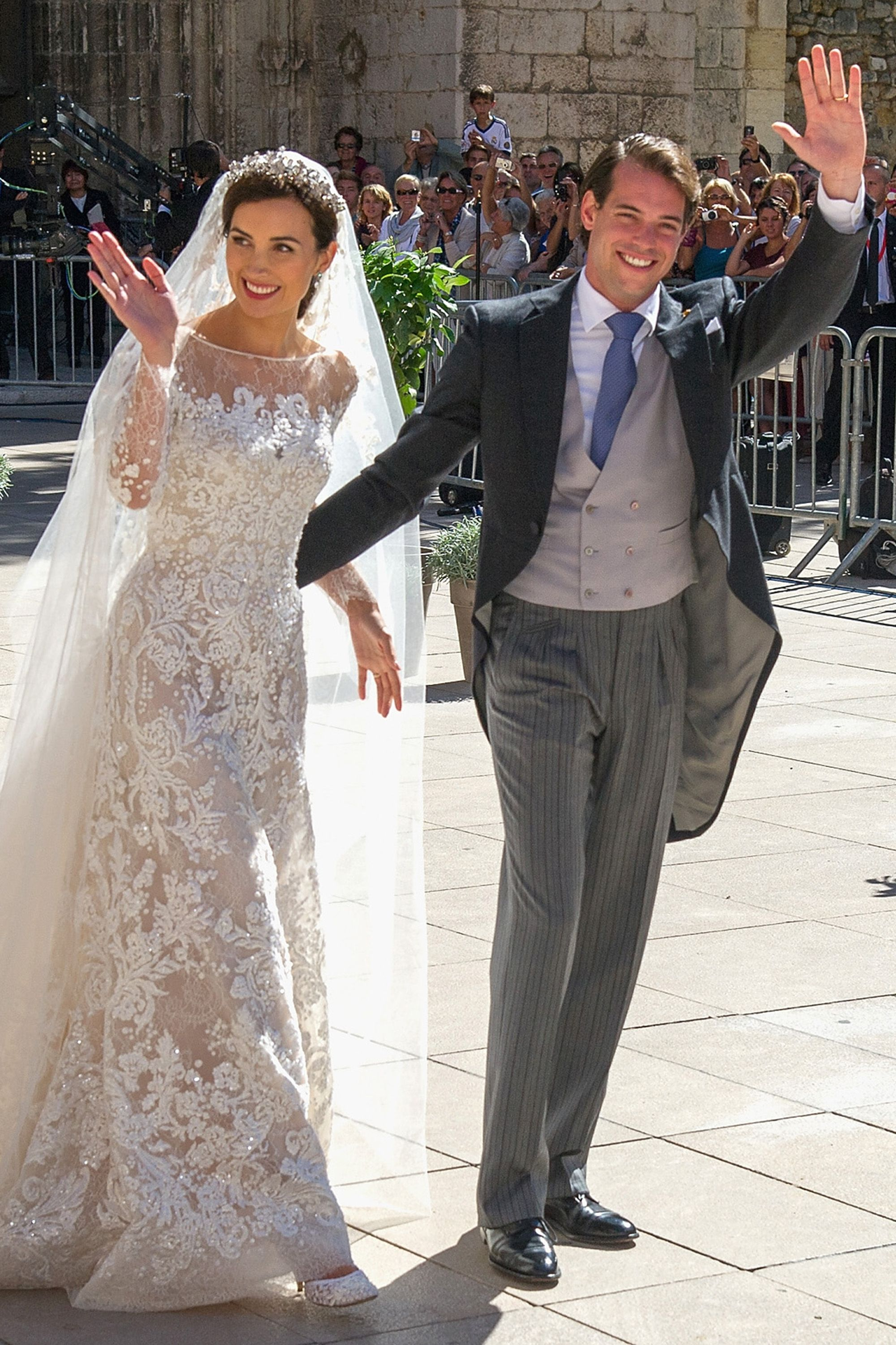 30 Best Royal Weddings Of All Time Family Throughout History: Princess Claire Wedding Dress At Websimilar.org