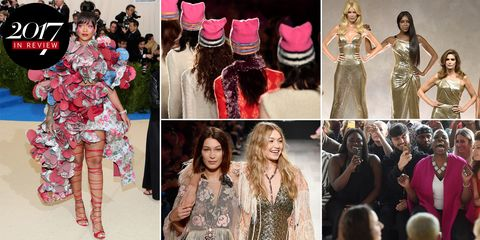 34e3095be18 Top Fashion Moments and Runway Shows of 2017 - Best 2017 Fashion Moments