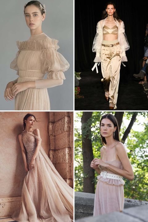 Fashion model, Clothing, Dress, Gown, Fashion, Neck, Formal wear, Wedding dress, Sleeve, Haute couture,