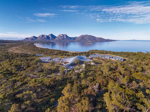 Mountain, Natural landscape, Mountainous landforms, Sky, Wilderness, Highland, Aerial photography, Coast, Fell, Ridge,