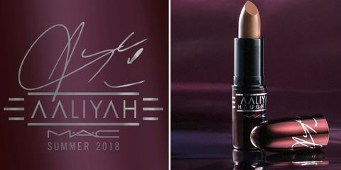 ddf9d1eaae2 MAC Just Announced They re Doing An Aaliyah Collection - MAC Aaliyah ...