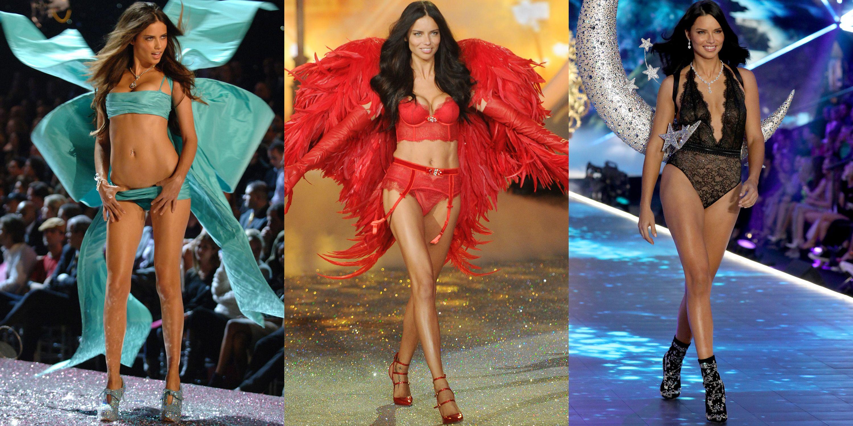 Adriana Lima Victoria S Secret Fashion Show Photos Through The Years