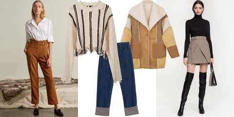 Clothing, Outerwear, Fashion, Jeans, Footwear, Trousers, Beige, Sleeve, Jacket, Fashion design,